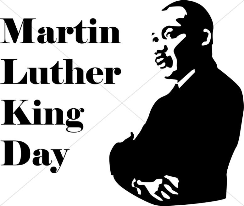 Martin Luther King Day January 20th