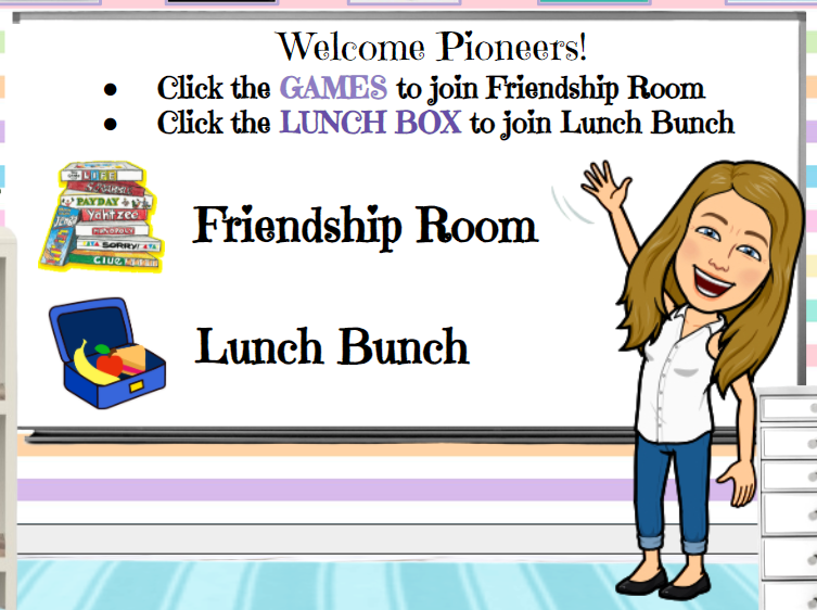Friendship Room & Lunch Bunch