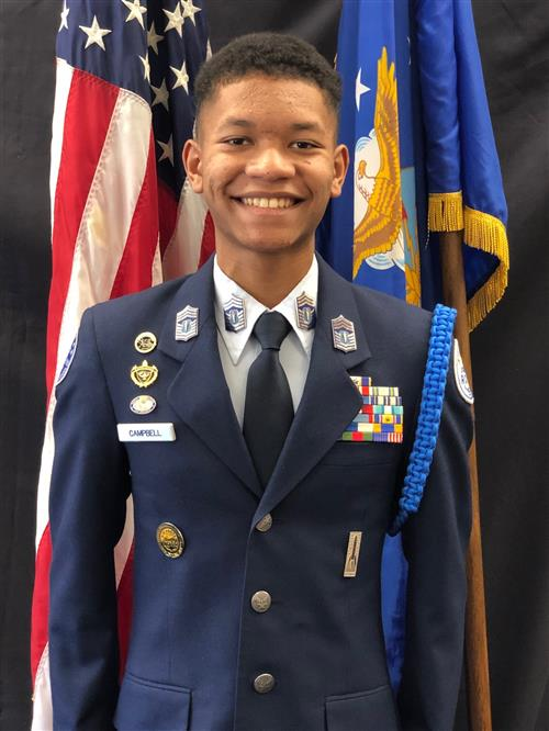 Command Chief C/ Chief Jayden Campbell