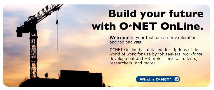 O*NET OnLine Image and Link