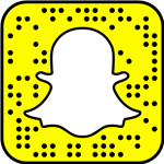 snapchat logo, yellow square with white ghost