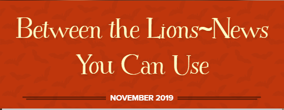 Between the Lions November Issue