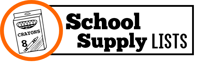 Clipart Back to school supplies