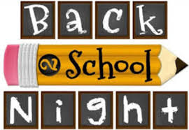 Picture of Back to School Night sign