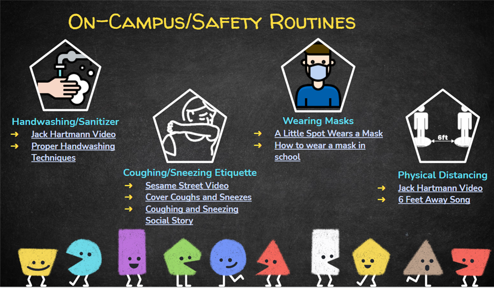 On-Campus Safety Routines