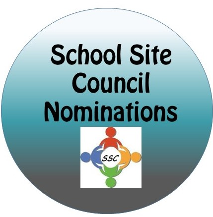 School Site Council Nominations for 2019-2020