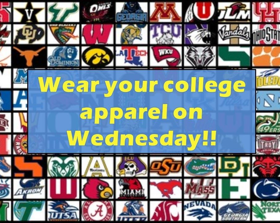 College Wear Wednesdays