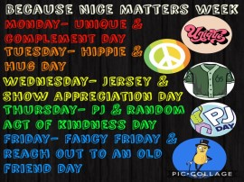 Because Nice Matters Week!