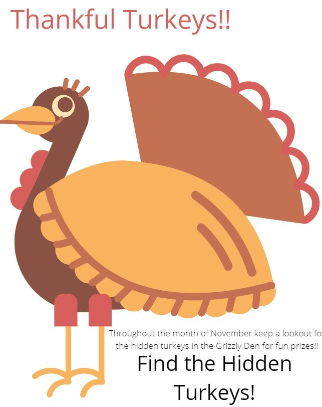 hidden turkeys
