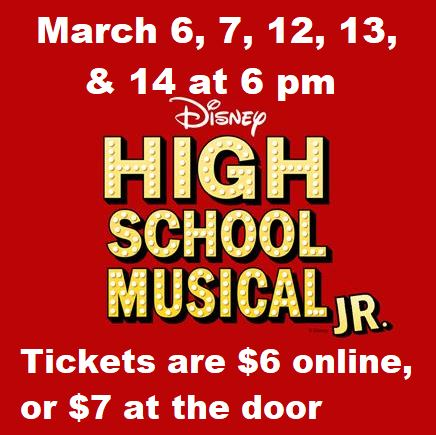 Buy tickets for the GMS drama performance. Click here to learn more.