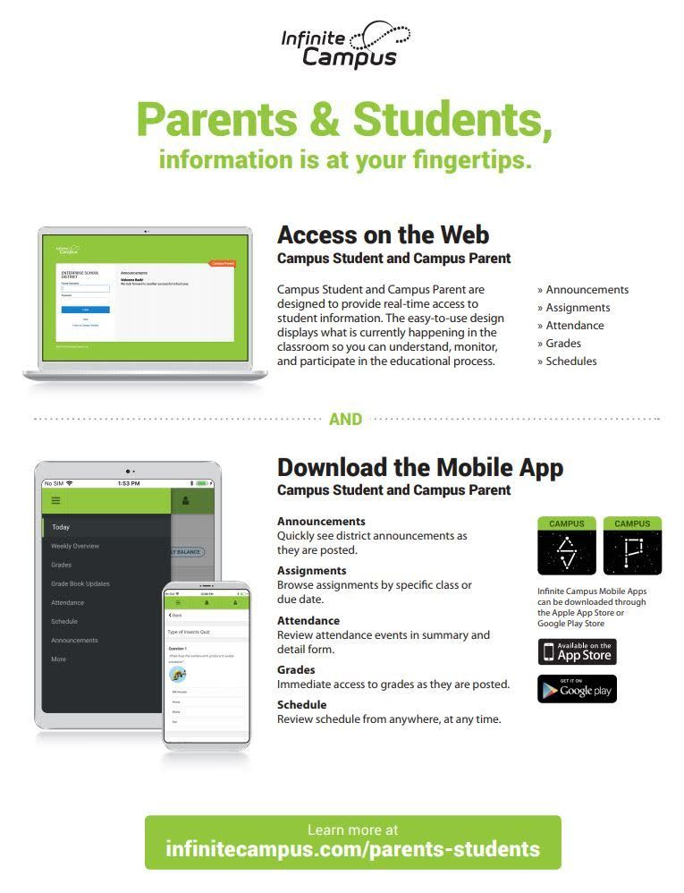 Infinite Campus Phone Apps