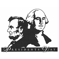 President's Day Weekend 2/15 - 2/18