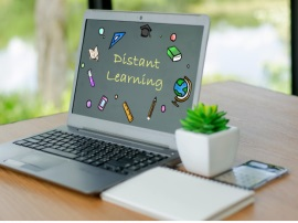 Distant Learning on Laptop device
