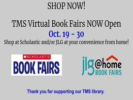 Virtual TMS Book Fairs Now Open