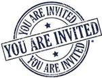 You are invited logo