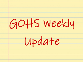picture of GOHS Weekly Update logo