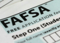 Picture of FAFSA application