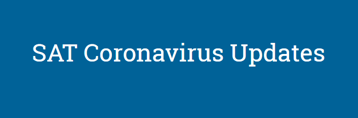 In response to the rapidly evolving situation around the coronavirus (COVID-19), we are canceling the May 2 SAT administration and March 14 makeup.