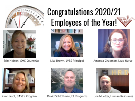 Congratulations TVUSD 2020/21 Employees of the Year