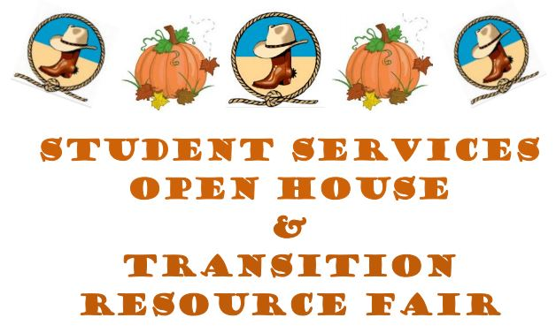 Student Service Resource Fair Flyer with Graphics