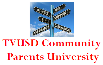 TVUSD Announces Parent Workshop Series - Suicide Prevention, Grief, and Trauma