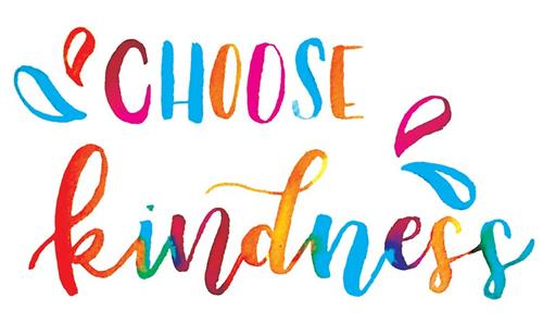 Choose Kindness in multi colors