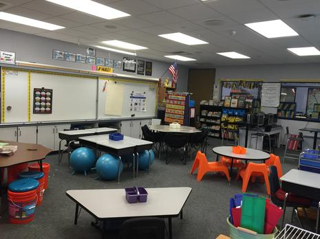 Flexible seating class picture