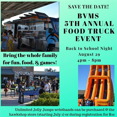 food truck event Aug 29