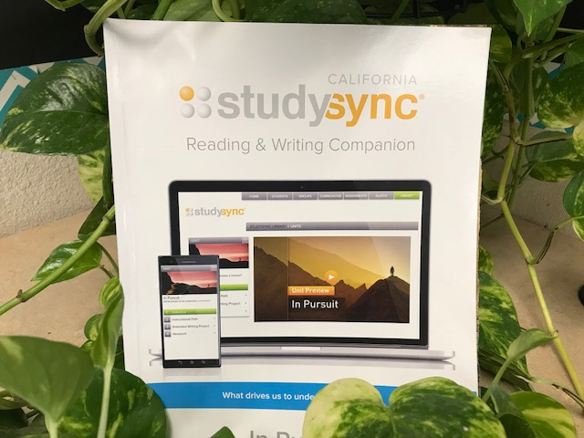 Photo of a StudySync Book