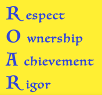 ROAR - GMS School Motto