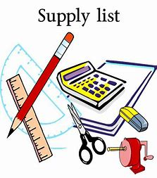 Geometry Supply List