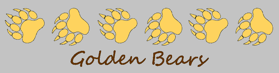"yellow paw print with acronym ""TV"" inside"