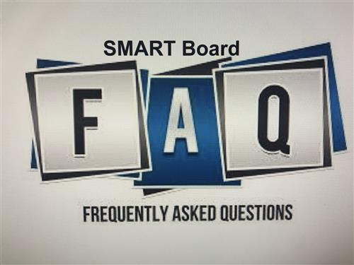 Frequently Asked Questions about SMARTBoard
