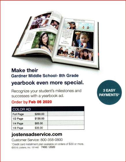 Yearbook AD Flyer