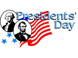 picture of Washington and Lincoln with flag in background and title Presidents' Day