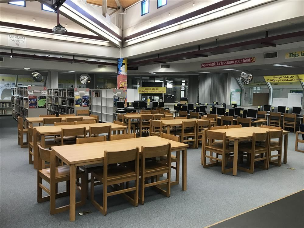 Picture of the TMS Library/Media Center