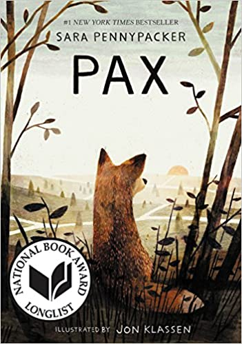 Pax Book Cover