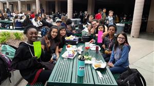 students participating in Twisted Tuesday