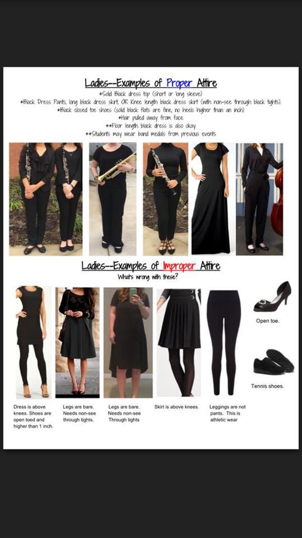 Petersen Janice Performance Dress Information